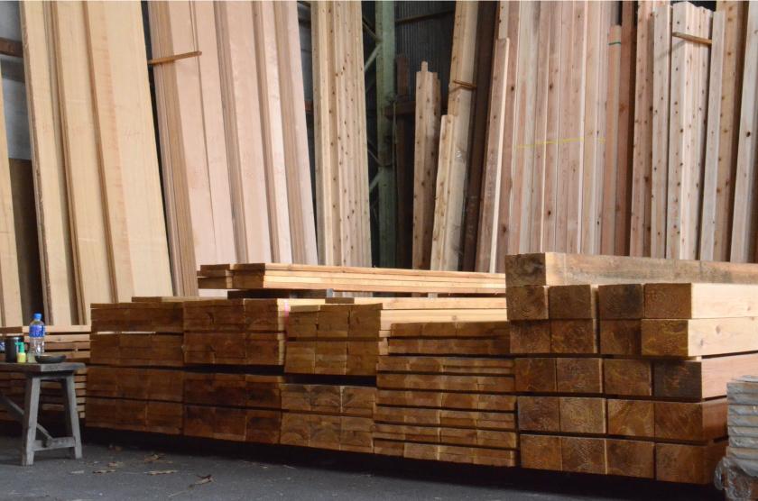 佐世保市で材木を買いたい!萩原材木店にお任せ下さい!